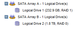 array-before-adding-drive